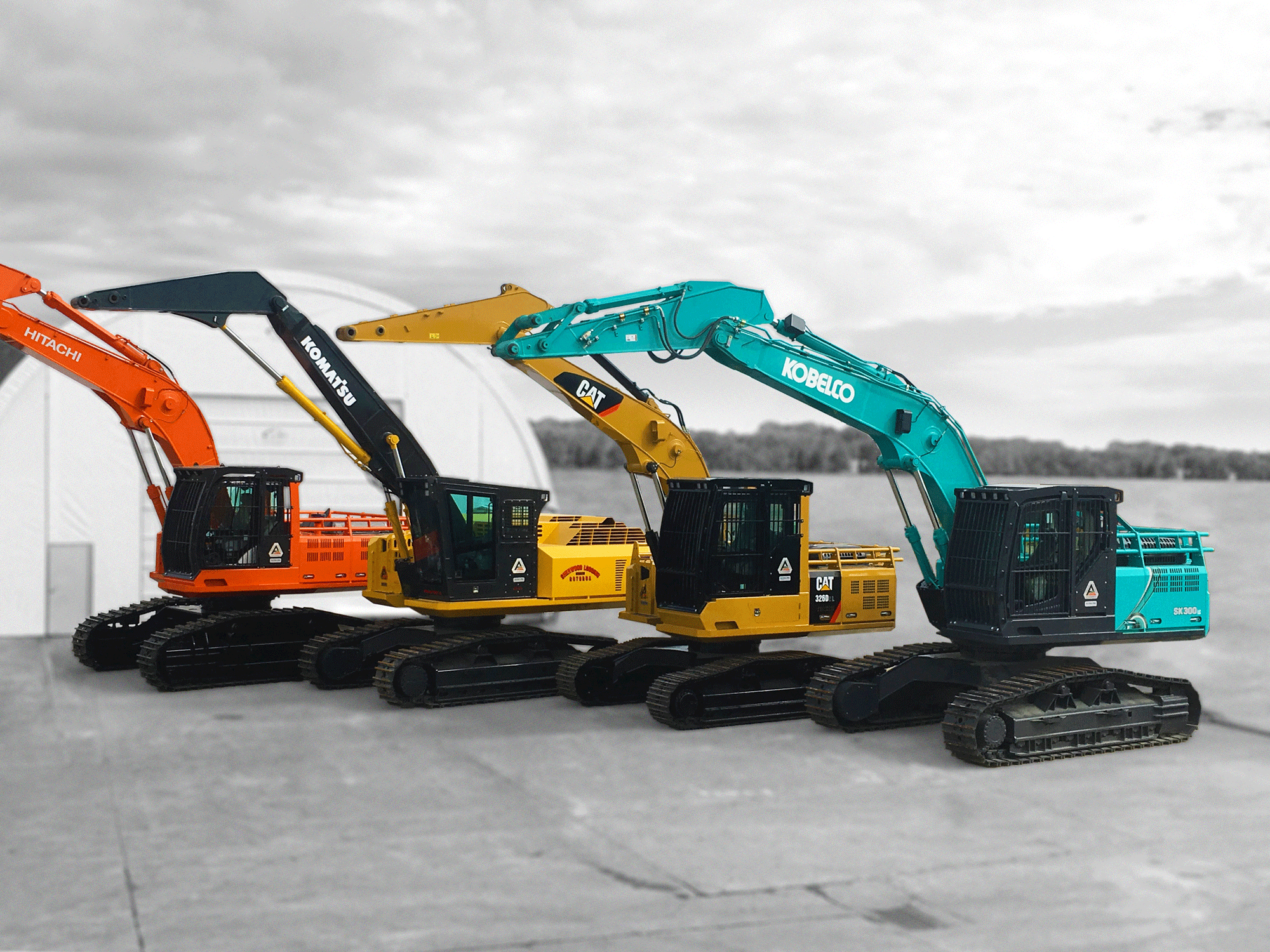 Four Machines | Machinery | Active VMA