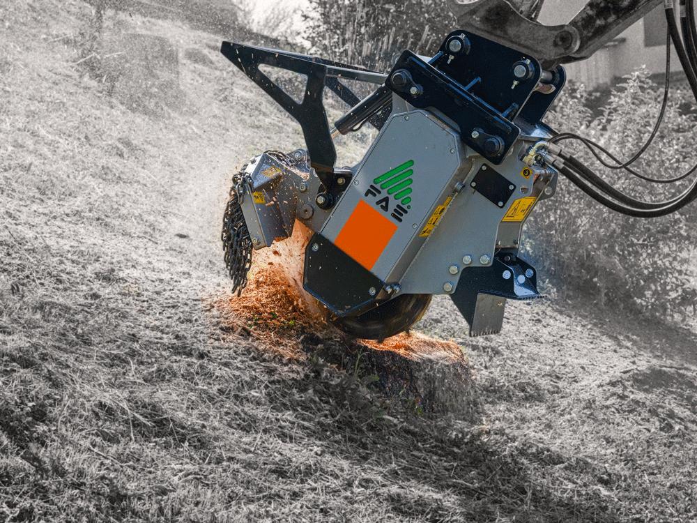 Excavator Stump Cutter | Attachments | Active VMA
