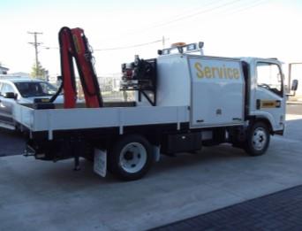 Field service truck   Active VMA