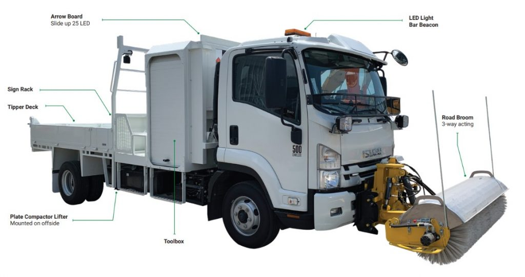 Road Patrol Truck | Active VMA | Engineering Solutions