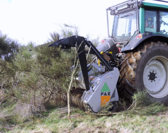 UMM/DT 250 Tractor Mulcher | Active VMA